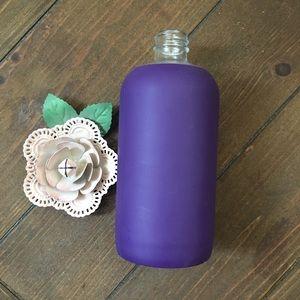 Bkr Purple Sleeve 500 ml Glass Water Bottle No Lid